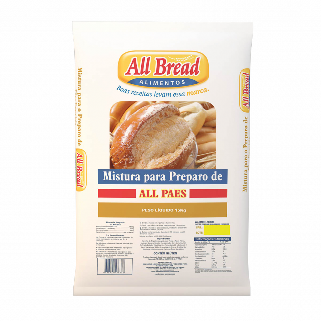 All Pães Especiais - All Bread